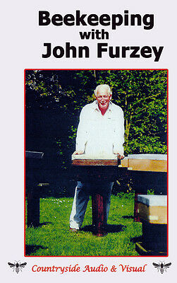 DVD Bee Keeping John Furzey Keeping Bees Honey Farming