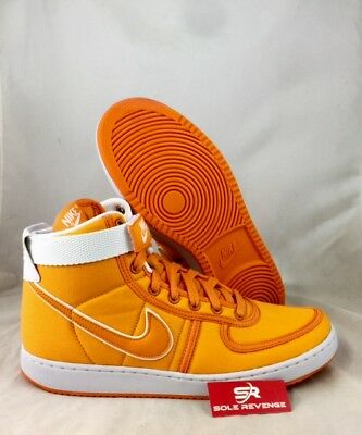 reputable site 10f31 b7306 Back to the Future Vandal High Supreme DOC BROWN Orange Shoes AH8605-800