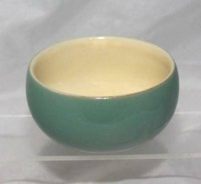 Denby Pottery Manor Green Pattern Sugar Bowl made in Stoneware