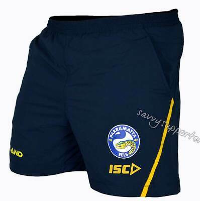 Parramatta Eels 2018 NRL Training Shorts Sizes Adults and Kids Sizes BNWT