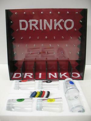 DRINKO Shot Drinking Game Party Entertaining Bar Man Cave Frat College Fun YOLO!