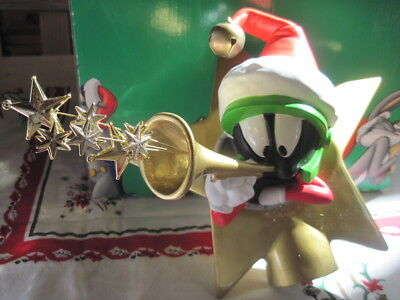 WB Studio Store Exclusive Marvin the Martian Star Christmas Tree Topper 1998