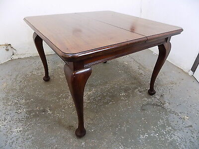 antique,edwardian,mahogany,extending,table,dining table,cabriole legs,dining