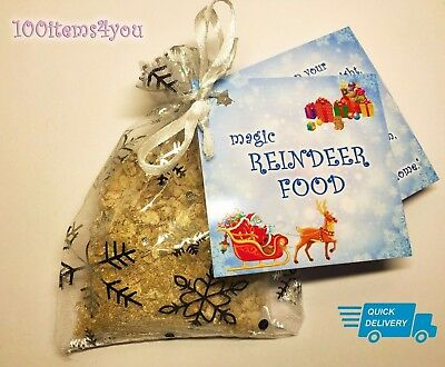 Reindeer Food Magic Magical Christmas Eve Kids Activity Tradition Santa Dust UK