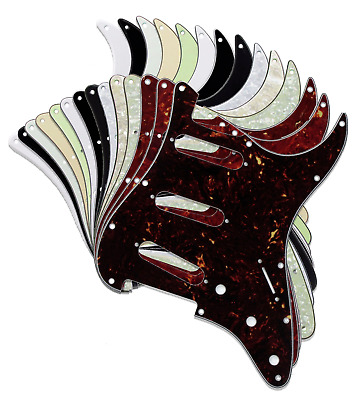 Strat Stratocaster Electric Guitar Pickguard Scratch Plate USA MEX FIT SSS