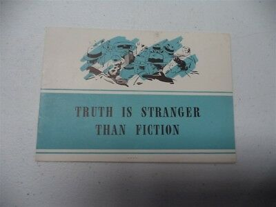 "1938 Packard ""Truth is Stranger than Fiction"" Brochure"