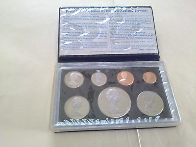 New Zealand 1976 Complete Proof------ Set In Case