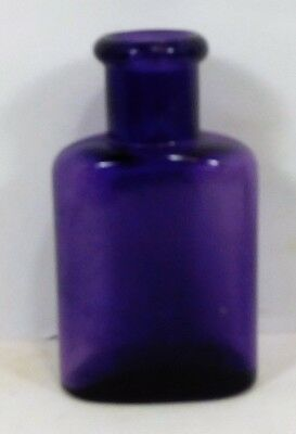"c1900 PURPLE-AMETHYST  "" IRON GLUE MFG. CO.  BALTO  "" BOTTLE"