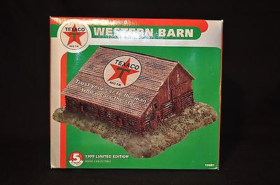 1999 Limited Edition Texaco Western Barn 5th in Series - Sealed Box Never Opened