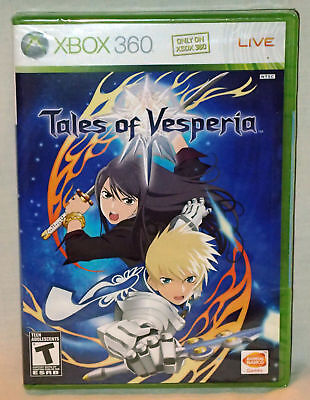Tales of Vesperia ( Microsoft Xbox 360 ) BRAND NEW SEALED