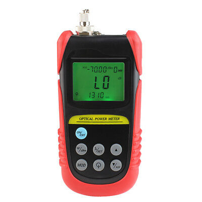New TBM-70A Handle Optical Fiber Tester Optical Power Meter +6~-70 dBM For CATV