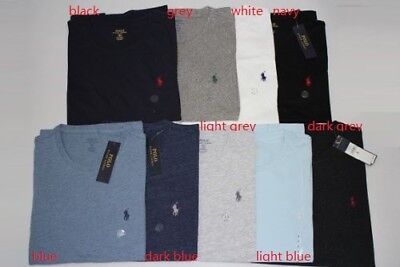 Brand New Authentic Ralph Lauren Men's Custom Fit Cotton Shirts Sz S.m.l.xl.xxl