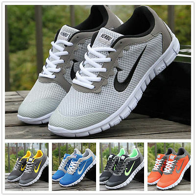 2018 Fashion Running Breathable Sneakers Outdoor Sport Casual Athletic Men Shoes