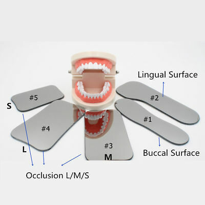 Dental Orthodontic Photo Mirror Intra Oral Mouth Mirror Glass Occlusal 2-Sided