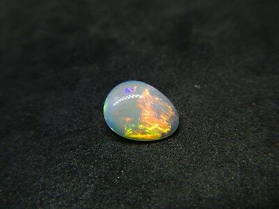 1.10ct Natural Australian Coober Pedy Solid Opal Stone Cut Loose Gemstone #502