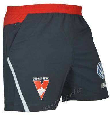Sydney Swans 2018 AFL Training Shorts Sizes Adults and Kids Sizes BNWT