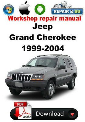 jeep grand cherokee 1999 2004 factory workshop repair manual 9 99 rh picclick com 99 jeep grand cherokee repair manual pdf 99 jeep grand cherokee factory service manual