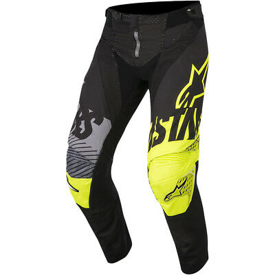 Alpinestars NEW Mx 2018 Techstar Screamer Black Fluro Motocross Dirt Bike Pants