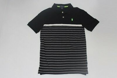 Brand New Authentic Ralph Lauren Big Boy Stripe Polo Shirts Sz S8.m10-12.l14-16