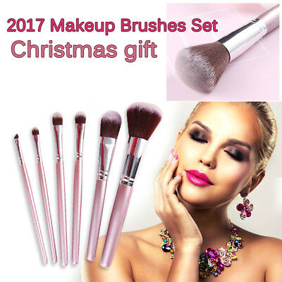 6 / 9 PCS Professional Make Up Brush Set Foundation Brush Kabuki Makeup Brushes