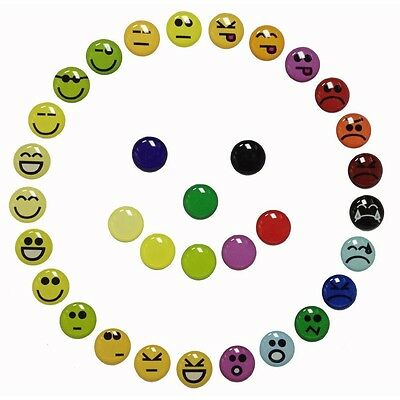 33 pcs Home Button Sticker Decals Happy Face Grumpy Sad Emoticon for iPhone