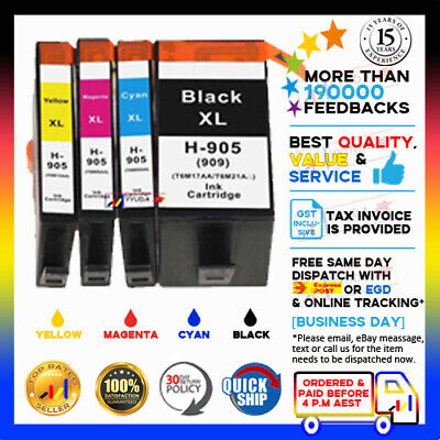 ANY Compatible 905XL Ink Cartridges for HP Officejet Pro 6950 6956 6960 6970