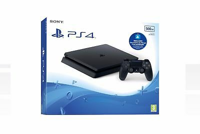 Ps4 Console 500Gb Slim + Ps Live Card 10€ - Playstation 4 Sony  D Chassis Ita.
