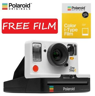 Polaroid Originals OneStep 2 OneStep2 600 Instant Camera White +Free i-Type Film