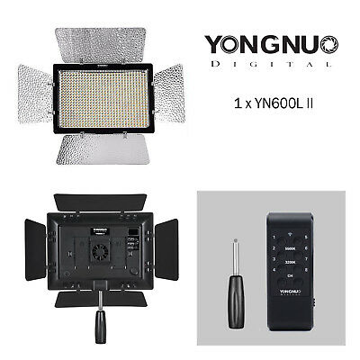 YONGNUO YN600L II Pro LED Video Light 3200K-5500K with Wireless Remote Control