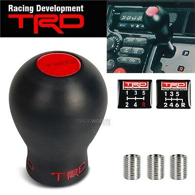 TRD Black Logo MT Manual Racing Shift Transmission Race Shifter Short Gear Knob