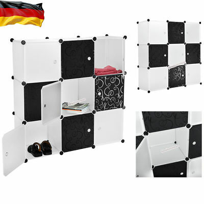 diy schrank regalsystem schuhregal b cherregal sideboard schuh regal schrank eur 22 99. Black Bedroom Furniture Sets. Home Design Ideas
