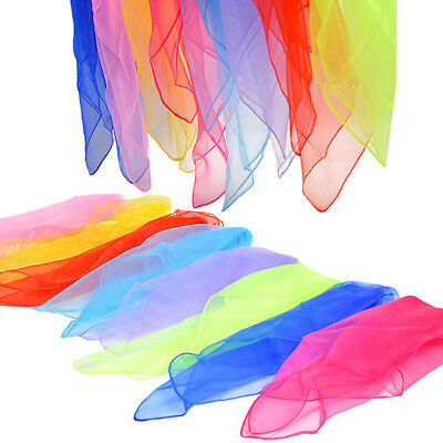 Multi-coloured Sensory Autism Scarves Kids And Aults Relieve Stress Dance Toys