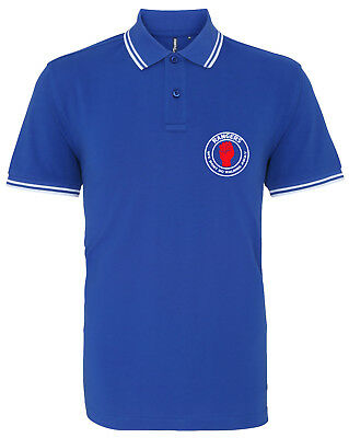Rangers Northern Soul Football Casual Mens Premium Polo Shirt Unofficial