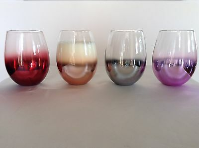 Soy Candle   Stemless glass jar   Contemporary Style   80 Hrs Large   J Serenity