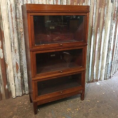 Antique Vintage Bookcase Globe Wernicke Shelving Storage Library Furniture