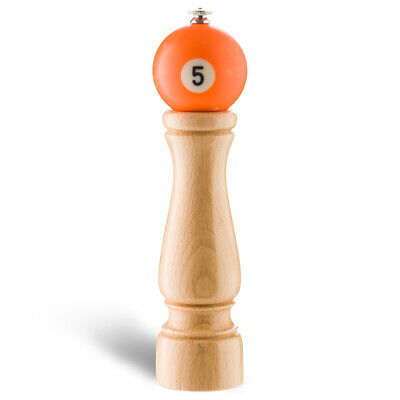NEW New Life Factory Pool Pepper Mill Solid Orange