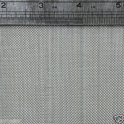 """Stainless Steel  Woven Wire Mesh 30 mesh 6"""" x 6"""" Type 304 (filter grading sheet)"""
