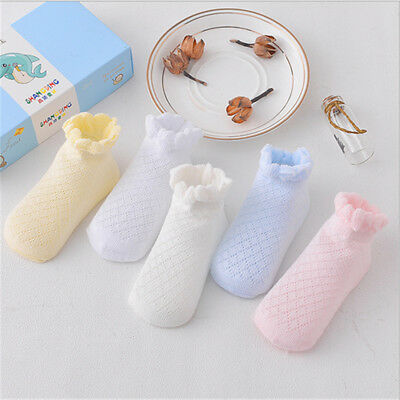 5 Pairs New Born Girl Boy Baby Sock Thin Cotton Casual Meias Infantil Sock Soft