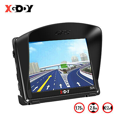 "XGODY 886 7"" GPS Navigation System Nav Sat 8GB Bluetooth Free Maps for Truck Car"