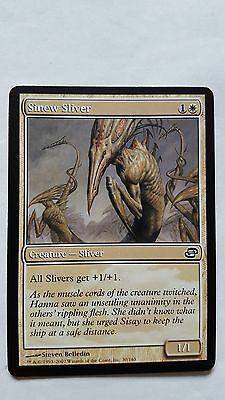 1x FOIL SINEW SLIVER - Rare - Planar Chaos - MTG - NM - Magic the Gathering