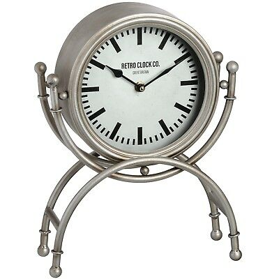 Antique Style Round Retro Clock Company Table Desk Mantel Clock (h18379) 33cm