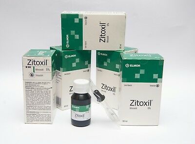 5% Minoxidil Extra Strong Men Hair Regrowth Solution ZITOXIL different Month