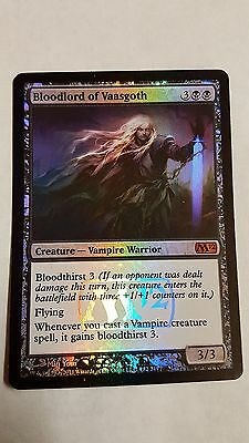 1x FOIL BLOODLORD OF VAASGOTH - Mythic - M12 - MTG - NM - Magic the Gathering