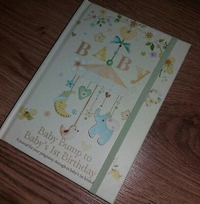 New Baby Record Book/ Pregnancy Book/ Keepsake/Journal - Baby Shower/ Mum to be
