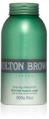 Molton Brown Bracing Silverbirch Thermal Muscle Soak 300g 10 oz