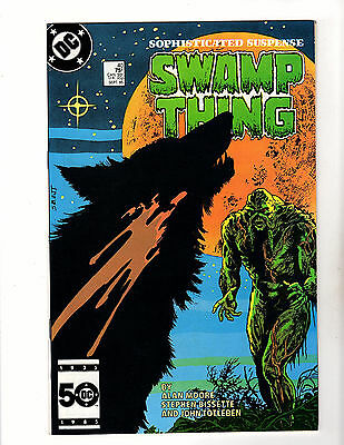 The Saga of Swamp Thing #40 (1985, DC) NM- Alan Moore Steve Bissette Constantine