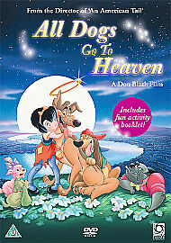 All Dogs Go To Heaven NEW DVD (OPTD1095)