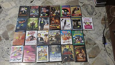 Lotto - Stock Film DVD 31 DVD originali (Scanners 2, Caccia spietata, ect)