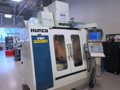 Hurco VM-1 CNC Machining Center from Medical Facility