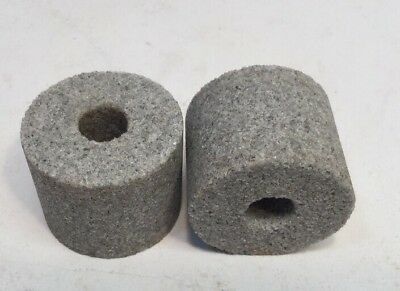 "(2) NEW Norton Grinding Wheel 62-A-46 J-7-VW 1,1/4"" x 1x 3/8"""